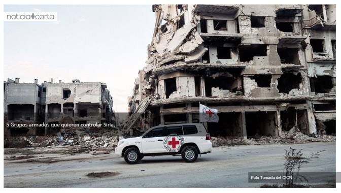 ¡Nadie está a salvo en Siria!: Cruz Roja
