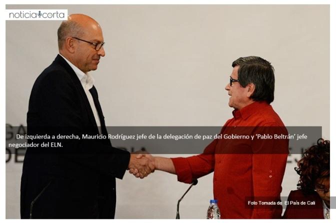 Inician diálogos públicos de paz entre el Gobierno de Colombia y el ELN
