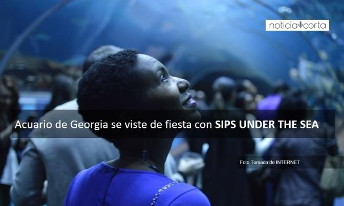 ACUARIO DE GEORGIA SE VISTE DE FIESTA CON SIPS UNDER THE SEA